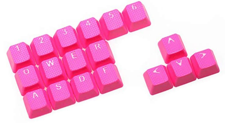 best rubber keycaps