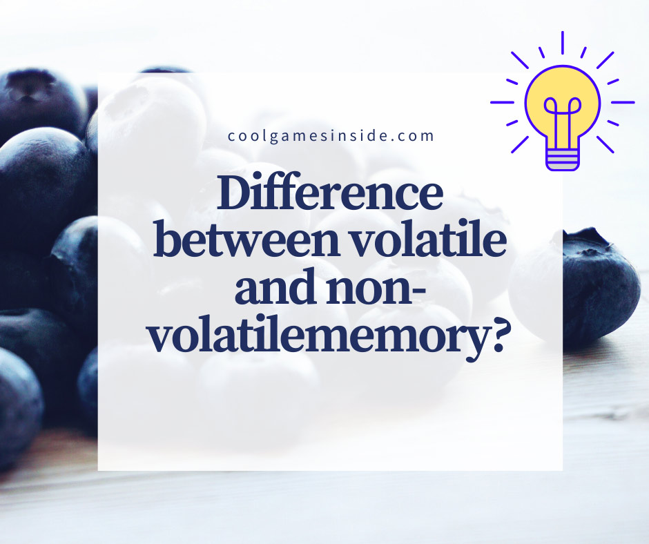 why ram is called volatile memory?