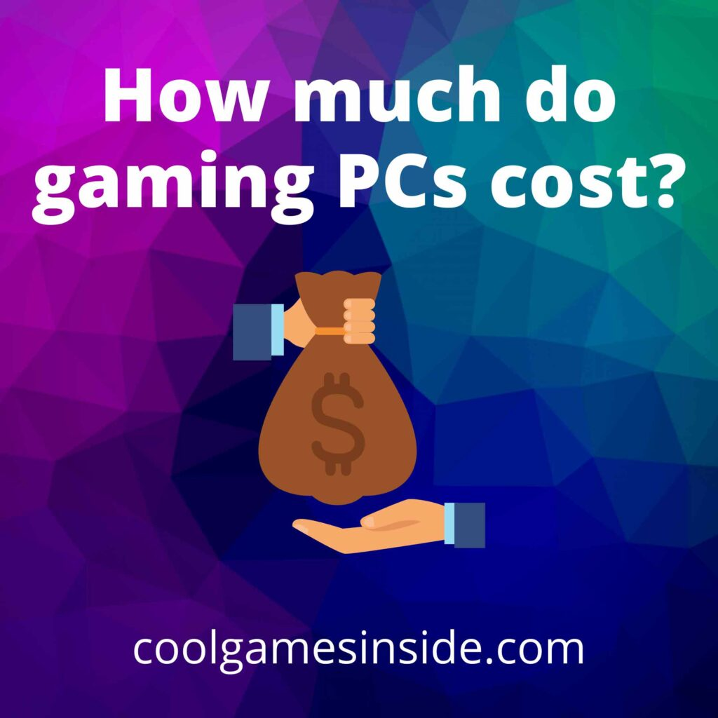 How much do gaming PCs cost?